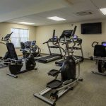 Equipped gym at The Legends at Whitney Town Center